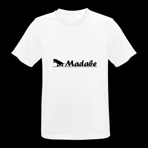 Cap black - Männer T-Shirt atmungsaktiv