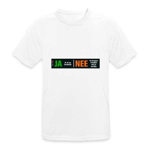 facebookvrienden - Mannen T-shirt ademend actief