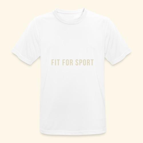FIT FOR SPORT - Herre T-shirt svedtransporterende