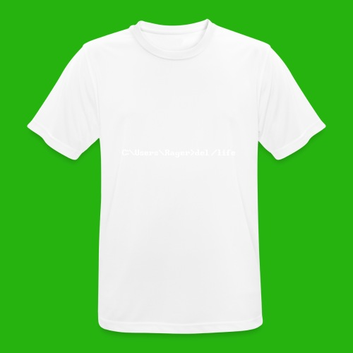 Programming Get A Life - Men's Breathable T-Shirt