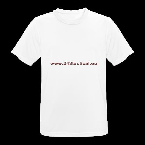 .243 Tactical Website - mannen T-shirt ademend