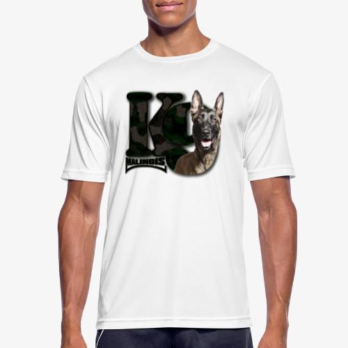 malinois k-9 - T-shirt respirant Homme