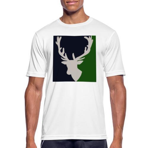 Hirch B FORST - Männer T-Shirt atmungsaktiv