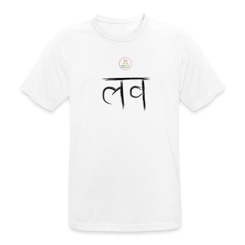 LOve SansKrit Black - T-shirt respirant Homme