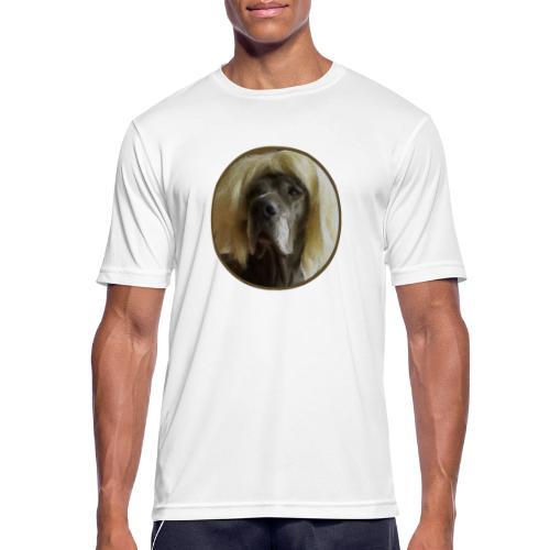 D O G G E mit Perücke - Männer T-Shirt atmungsaktiv