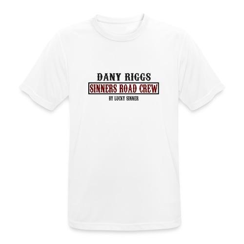 Official Sinners Road Cre Shirt by Dany Rigs - Männer T-Shirt atmungsaktiv