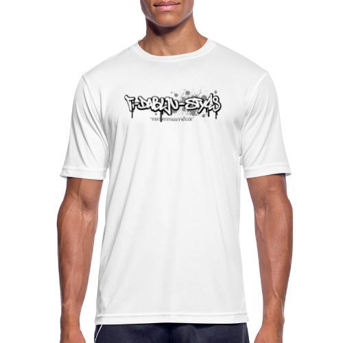 ti-dablju-styles_Logo - Männer T-Shirt atmungsaktiv