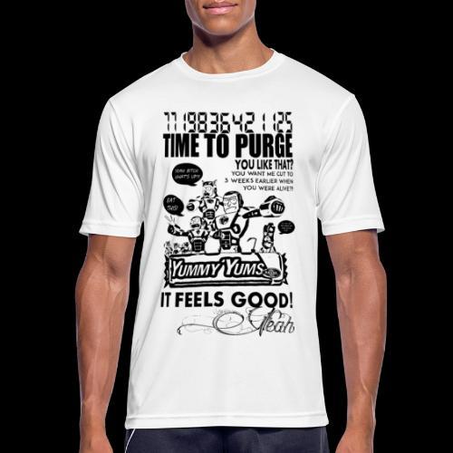 Time to Pizurge - Men's Breathable T-Shirt