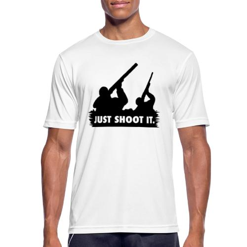 Just shoot it. - T-shirt respirant Homme