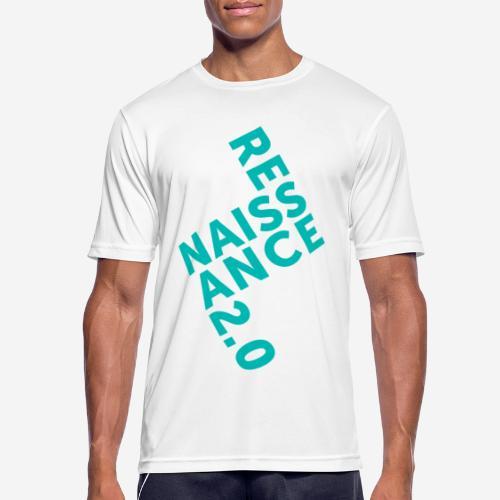 Covid Renaissance Quarantäne - Männer T-Shirt atmungsaktiv