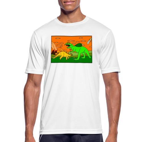 Schneckosaurier von dodocomics - Männer T-Shirt atmungsaktiv
