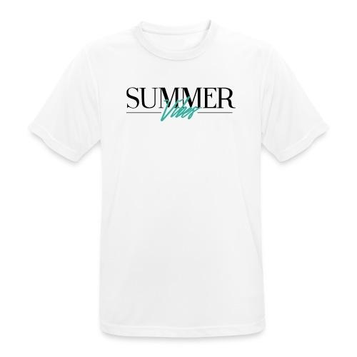 Summer Vibes - mannen T-shirt ademend