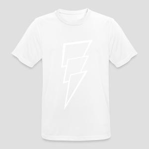 Thunder white - mannen T-shirt ademend