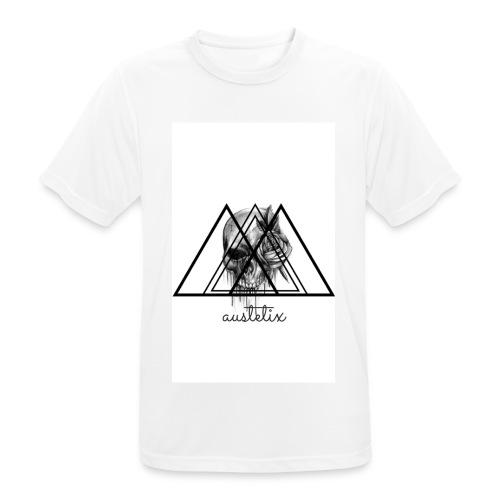 teschio - Maglietta da uomo traspirante