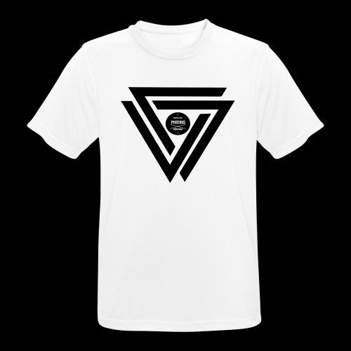 07logo complet black - T-shirt respirant Homme
