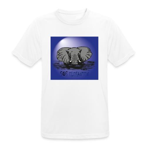 SOS ELEFANTEN - Männer T-Shirt atmungsaktiv
