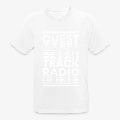 Logo Vertical Grand Blanc - T-shirt respirant Homme