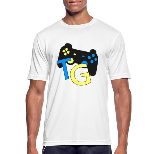 logoTG - Koszulka męska oddychająca