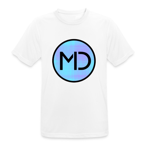MD Blue Fibre Trans - Men's Breathable T-Shirt