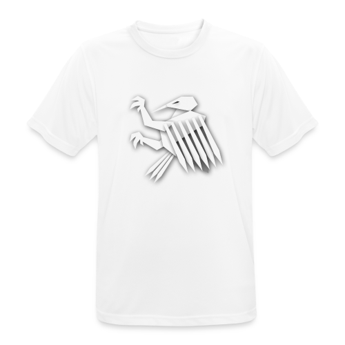 Nörthstat Group ™ White Alaeagle - Men's Breathable T-Shirt