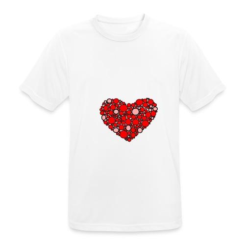 Hjertebarn - Herre T-shirt svedtransporterende