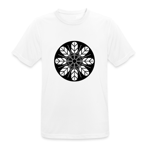 Inoue clan kamon in black - Men's Breathable T-Shirt