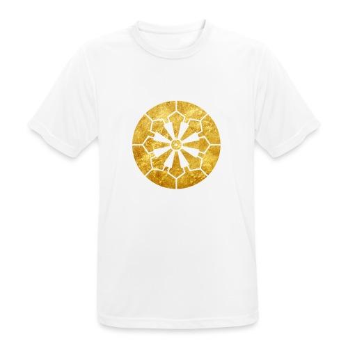 Sanja Matsuri Komagata mon gold - Men's Breathable T-Shirt