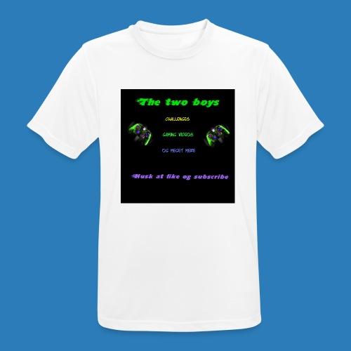 LUISJAKUBINTRO-jpg - Herre T-shirt svedtransporterende