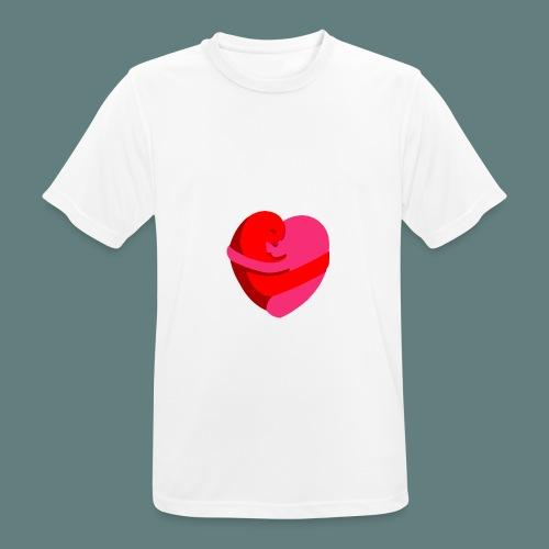 hearts hug - Maglietta da uomo traspirante