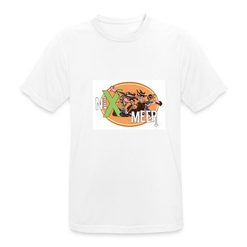 nixenmeer - Mannen T-shirt ademend actief