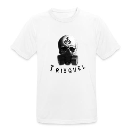 Trisquel Negro - Camiseta hombre transpirable