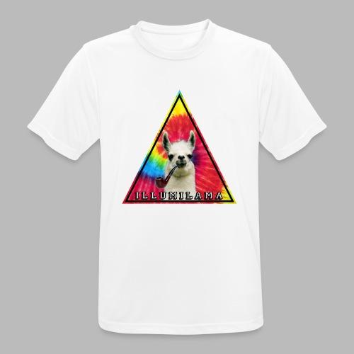 Illumilama logo T-shirt - Men's Breathable T-Shirt