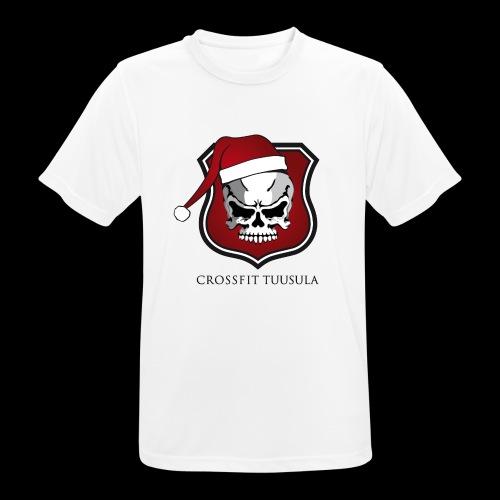 CrossFit Tuusula Xmas - miesten tekninen t-paita