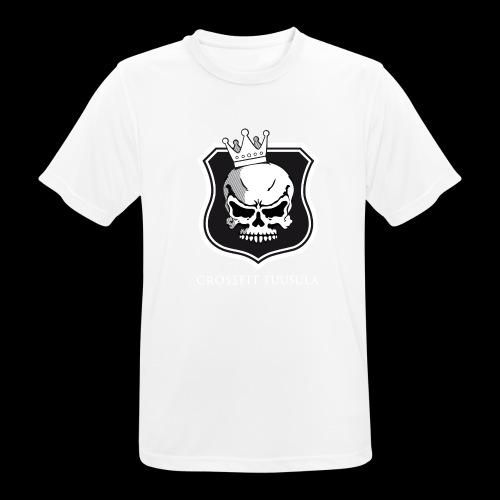 CrossFit Tuusula BW - miesten tekninen t-paita