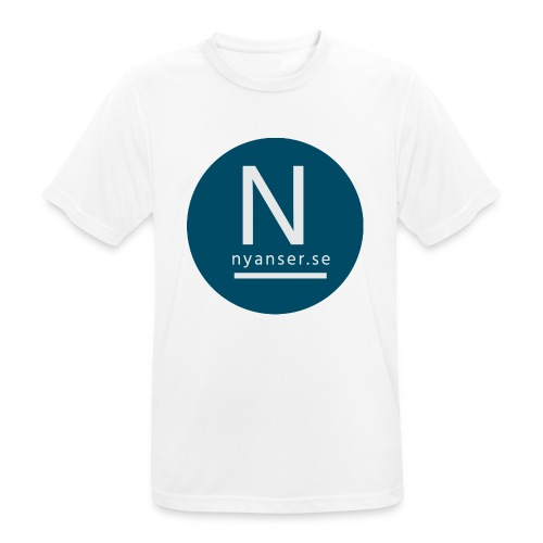 Nyanser.se ärm - Andningsaktiv T-shirt herr
