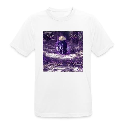 the first sense tape jpg - Men's Breathable T-Shirt