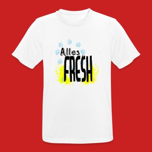 Alles Fresh / Frisch Sommer Eis - Männer T-Shirt atmungsaktiv