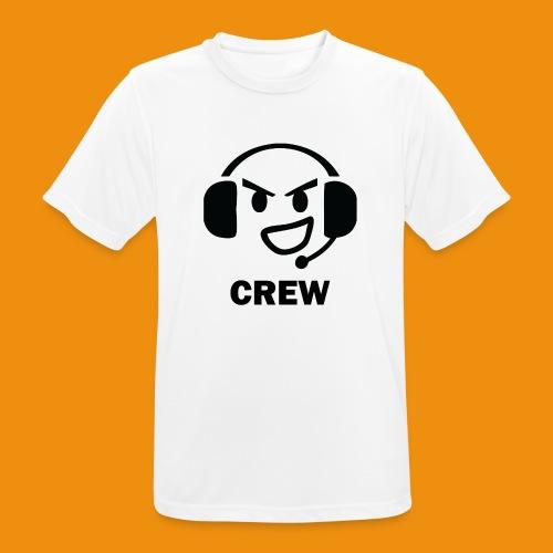 T-shirt-front - Herre T-shirt svedtransporterende