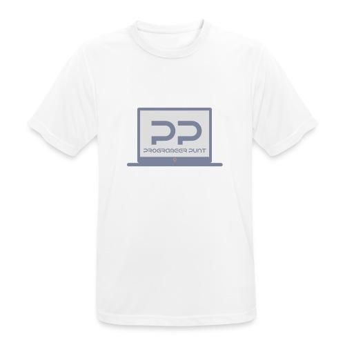 muismat met logo - Mannen T-shirt ademend actief