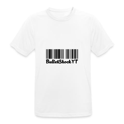 BulletShockYT - mannen T-shirt ademend