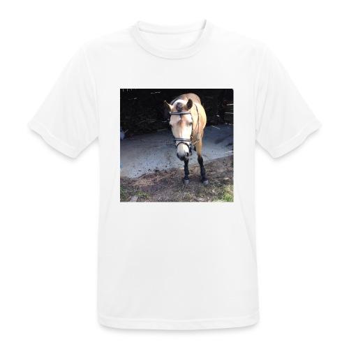 Häst - Andningsaktiv T-shirt herr