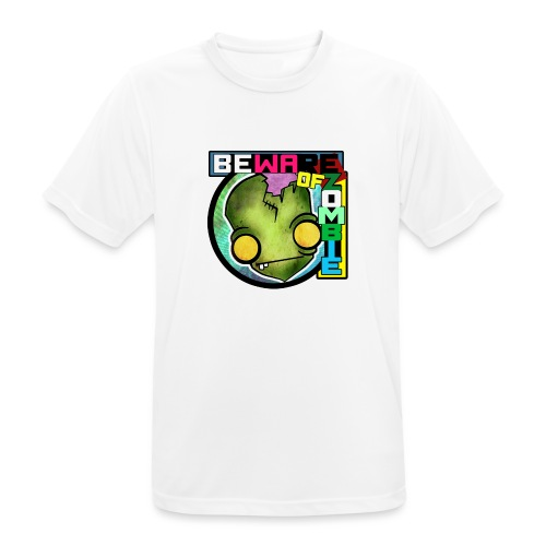 Beware of zombie - Camiseta hombre transpirable