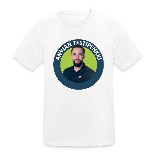 Lasten ruokalappu - miesten tekninen t-paita