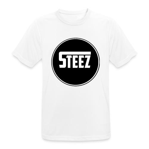 Steez t-Shirt black - Mannen T-shirt ademend actief