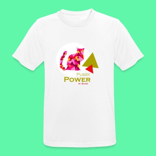 Pussy Power - Herre T-shirt svedtransporterende