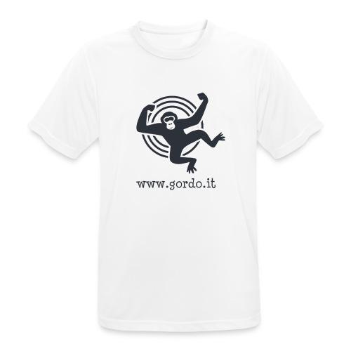 Psychedelic Ape - Gordo collection promotional - Maglietta da uomo traspirante