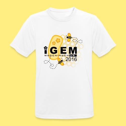 Logo - shirt men - Mannen T-shirt ademend actief