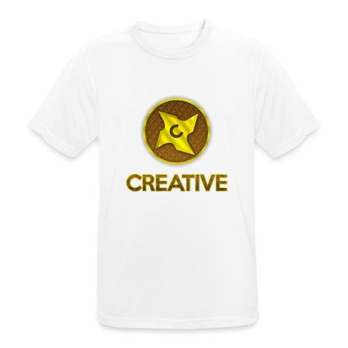 Creative logo shirt - Herre T-shirt svedtransporterende