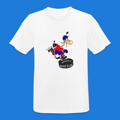 Hockey what else - Männer T-Shirt atmungsaktiv