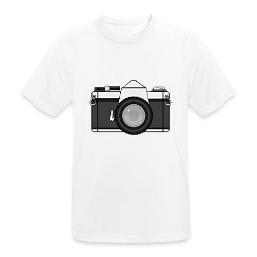 Shot Your Photo - Maglietta da uomo traspirante